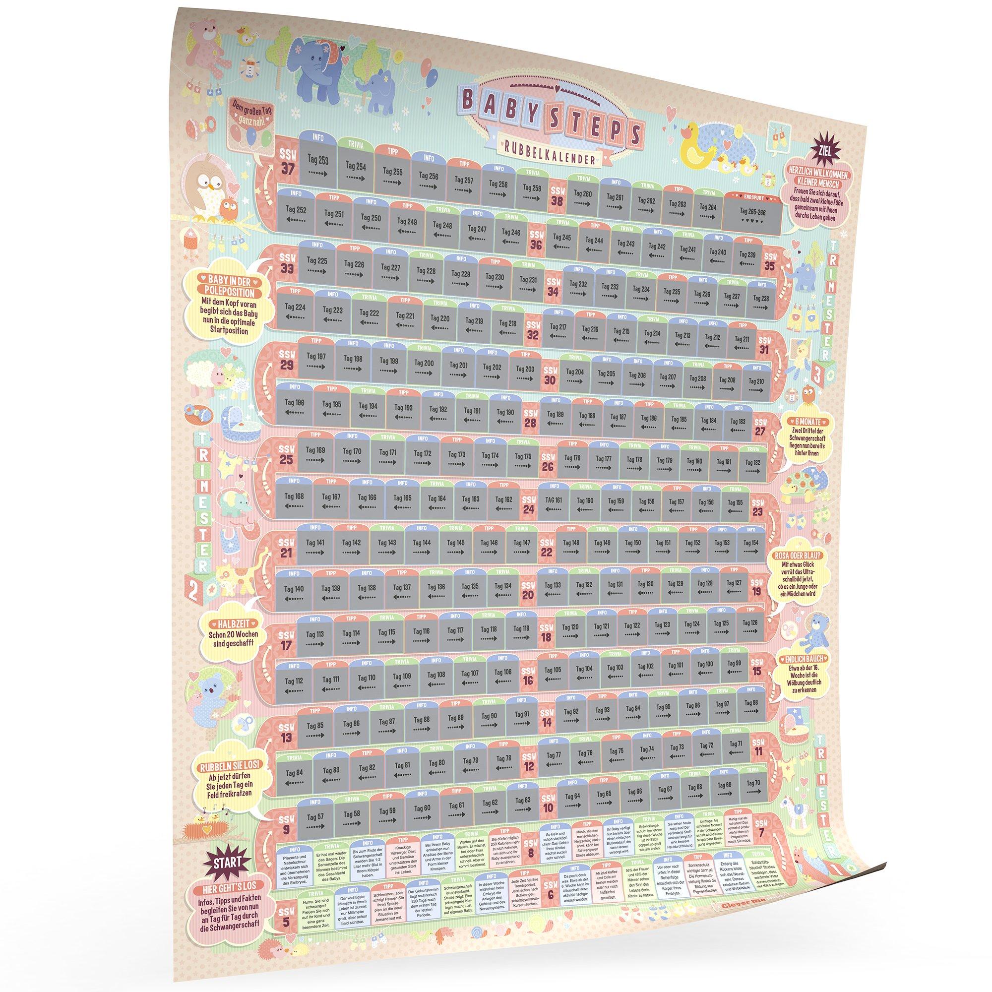 BabySteps Rubbelkalender Bild