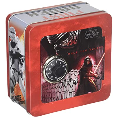 Disney Star Wars Episode 7 Penny Bank with Lock,,: Toys & Games