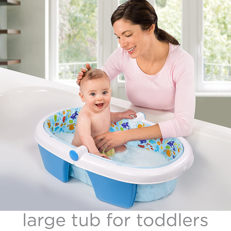 Amazon.com : Summer Infant Fold Away Baby Bath : Baby