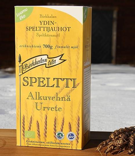 Harina de espelta para intolerantes al trigo
