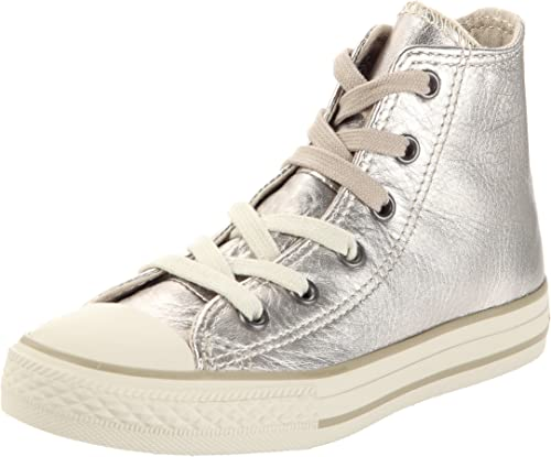Converse Chuck Taylor All Star Metal Hi, Baskets mode mixte enfant