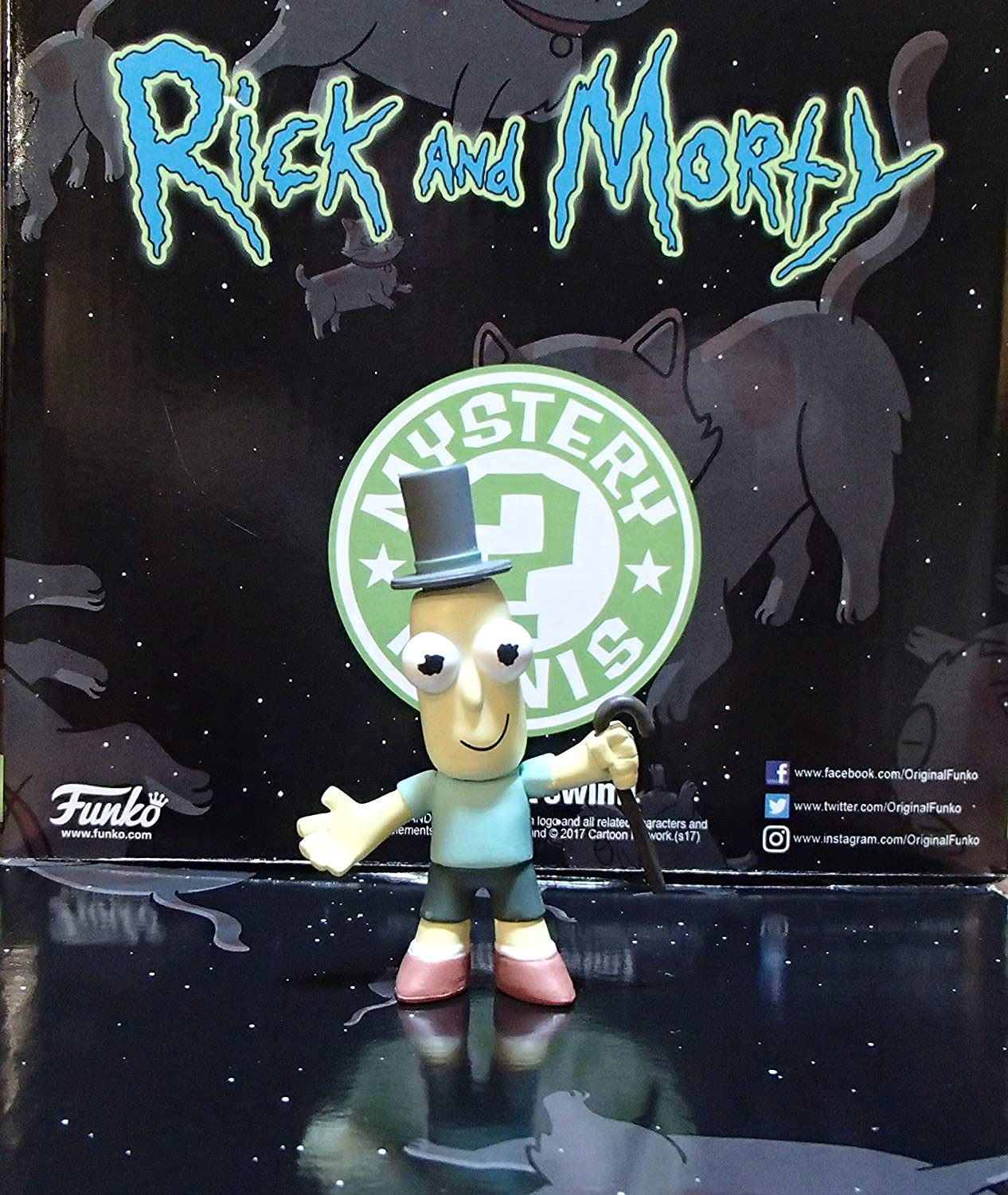 Details about  /Rick and Morty Mystery Minis Spacesuit Morty, Mr Poopy Butthole