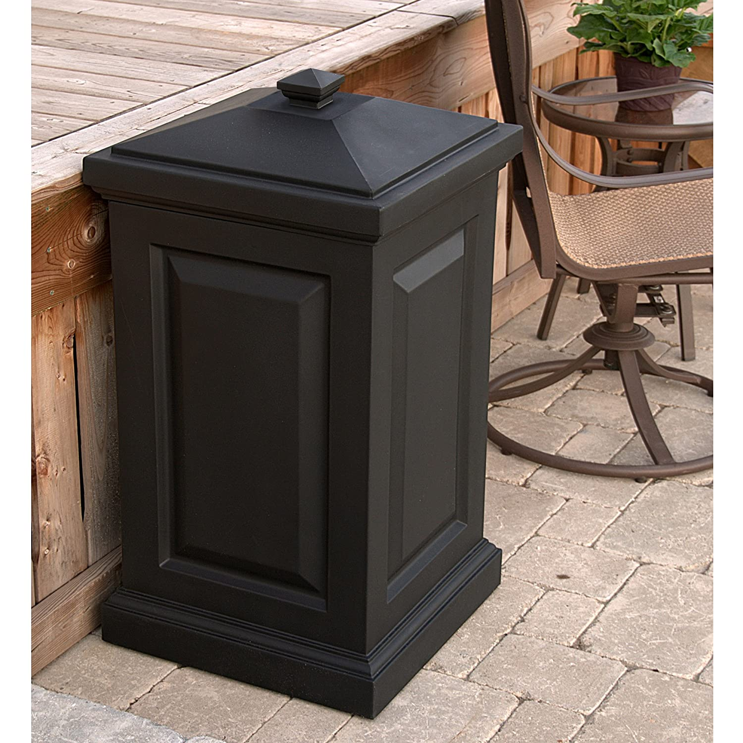 Marvelous Amazon.com: Mayne 4835 B Berkshire Storage Bin, Black: Home Improvement