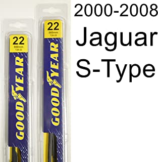 "product image for Jaguar S-Type (2000-2008) Wiper Blade Kit - Set Includes 22"" (Driver Side), 22"" (Passenger Side) (2 Blades Total)"