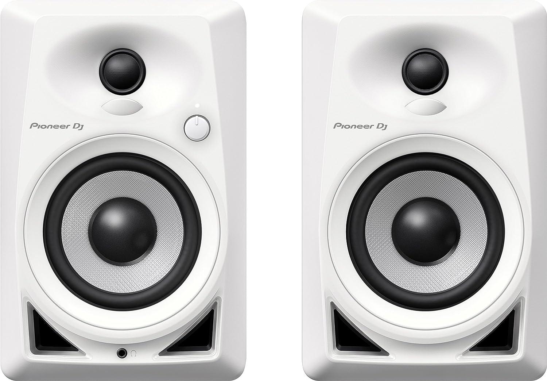 Pioneer DJ DM-40 PAIR Desktop Monitors Bring Excellent Audio Quality Pioneer Pro DJ