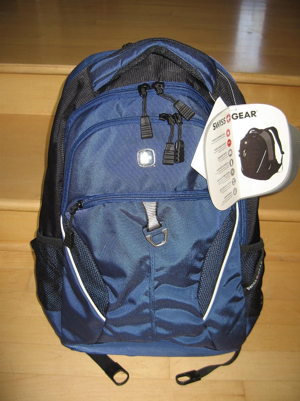 Brand New Swissgear Piz Fora Blue School Backpack Laptop Carrying Case Bag $35