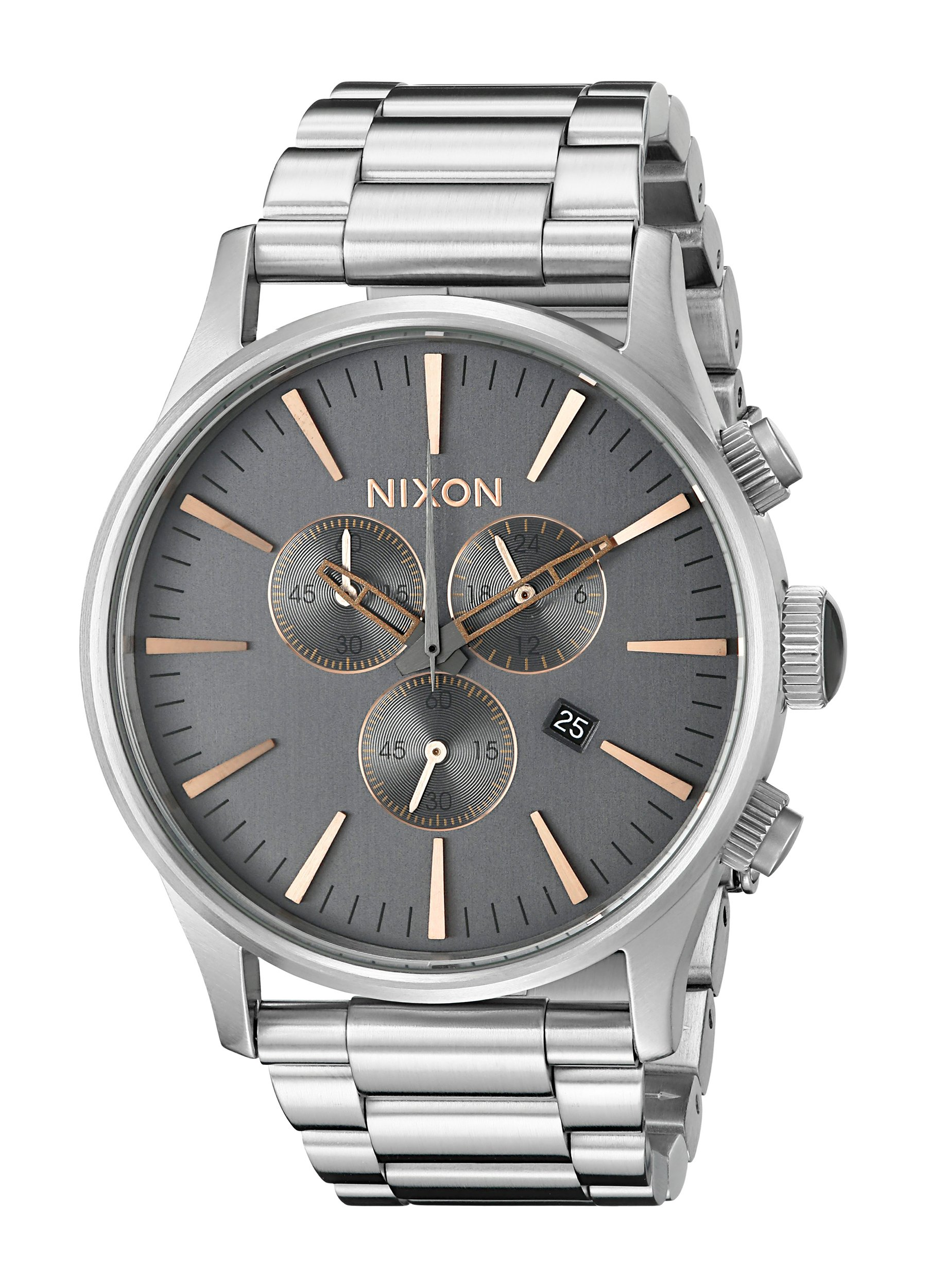 Nixon Men's A3862064 Sentry Chrono Stainless Steel Watch