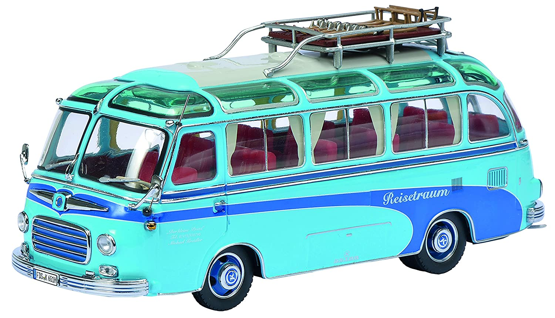 artículos de promoción Schuco 450283800 - sueño sueño sueño Reisebuss Setra S6 viajes, escala 1 43, coches y modelo de tráfico, azul  perfecto