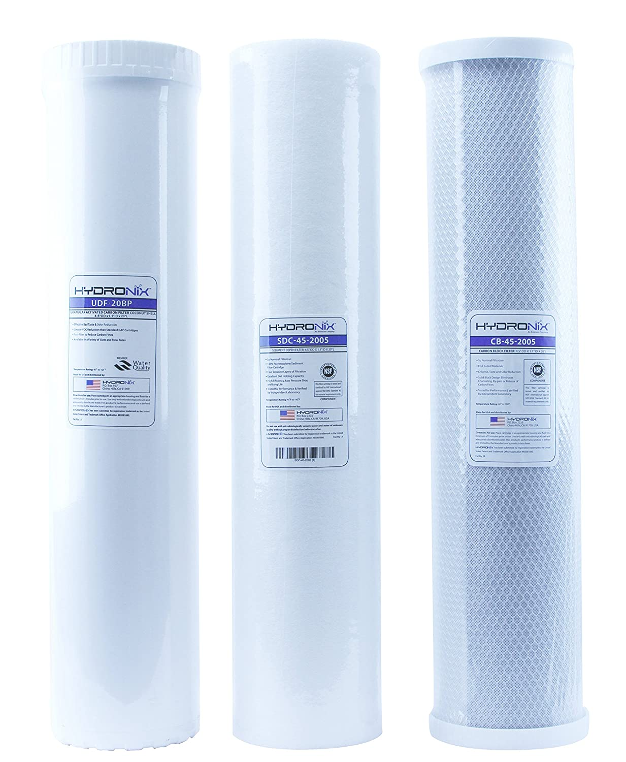 Big Blue Water Filters - Sediment/GAC/Carbon