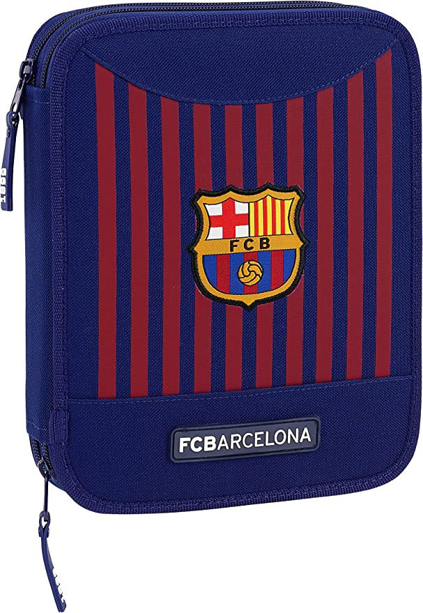FCB FC Barcelona 411829056 - Estuche con 56 Piezas: Amazon.es: Oficina y papelería