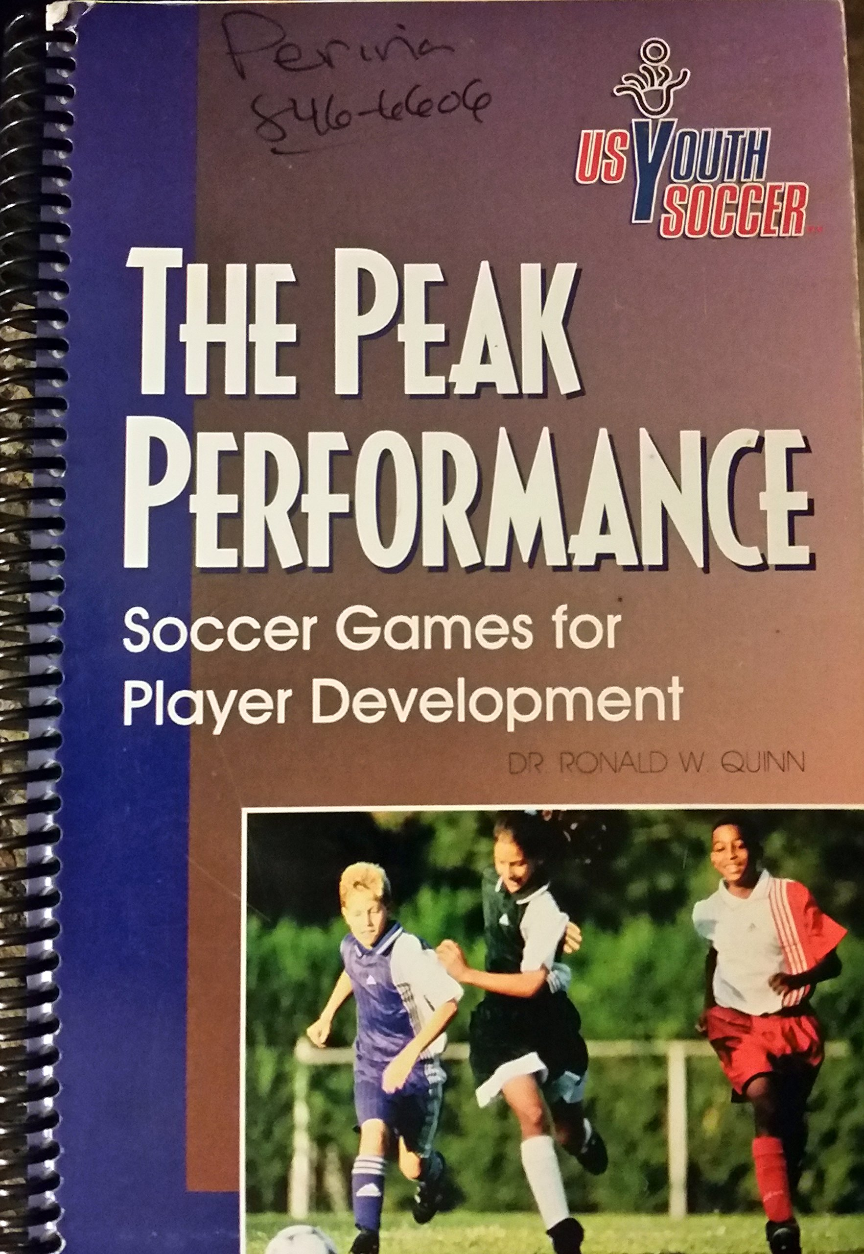 The Peak Performance: Soccer Games for Player Development