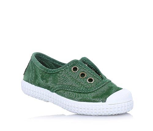 Cienta 70777 21/27 color beige unisex zapatos de la tela elástica 26 6trP7V7D