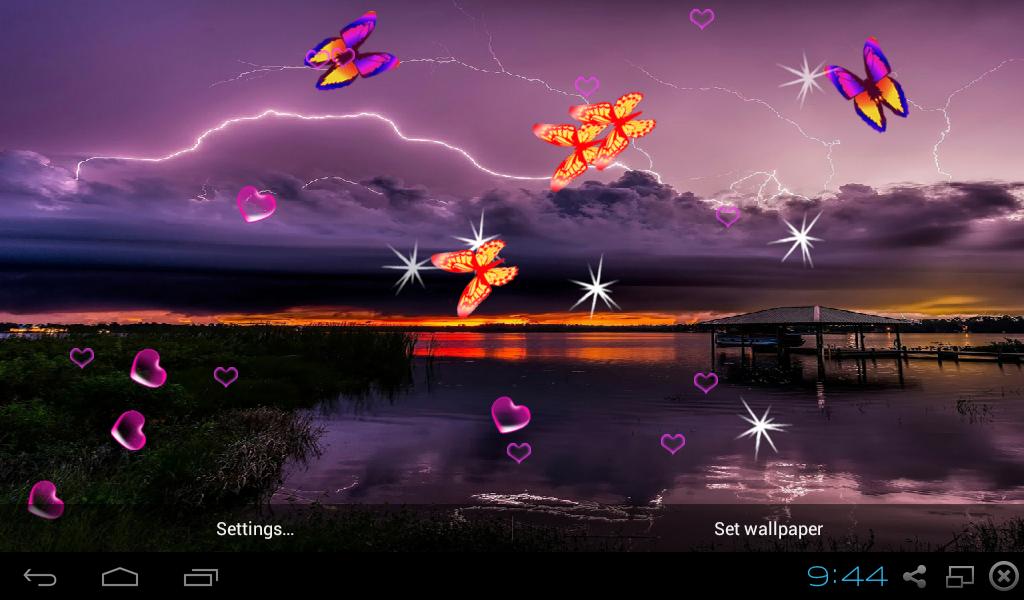amazon com 3d lightning storm live wallpaper appstore for android 3d lightning storm live wallpaper