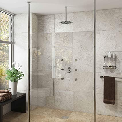 Cassellie Lana 10mm Glass Wet Room Panel 2000mm With 2 X