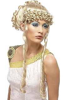 Wig Me Up Perruque Carnaval Dame Coiffure Historique Grecque