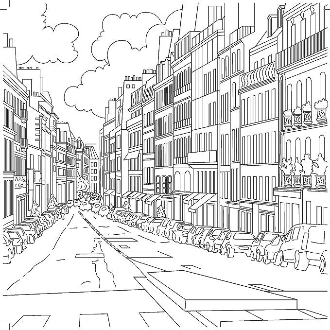 Kaisercraft Libro para Colorear, Papel, Blanco, 25 x 25 x 0.6 cm CL535