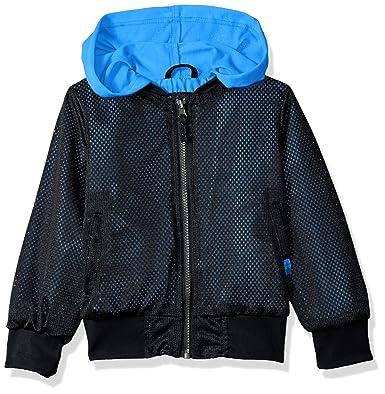 e821f8019 Amazon.com  iXtreme Boys  Hooded Mesh Bomber  Clothing