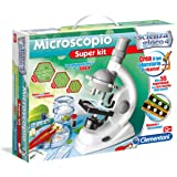 Clementoni 13967 - Scienza e Gioco Microscopio Super Kit