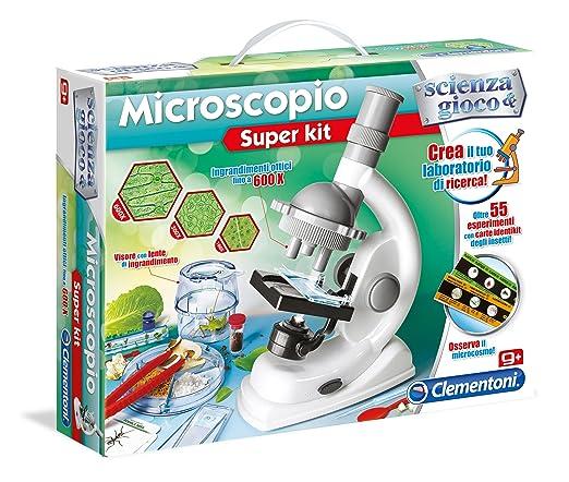 18 opinioni per Clementoni 13967- Scienza e Gioco Microscopio Super Kit