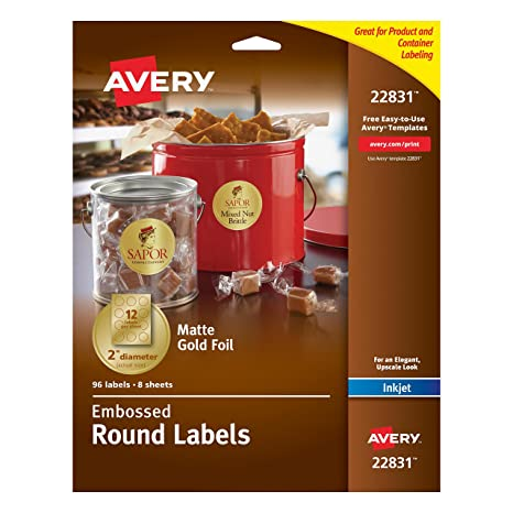 dt-350 2.5 inch circular labels, similar to avery 5294 labels ...