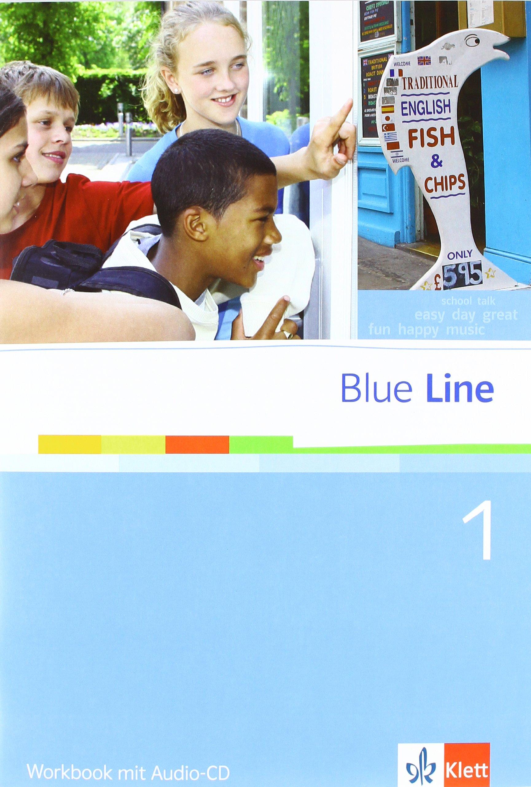 Blue Line 1. Ausgabe Niedersachsen: Workbook mit Audio-CD Klasse 5 (Blue Line. Ausgabe Niedersachsen ab 2011)
