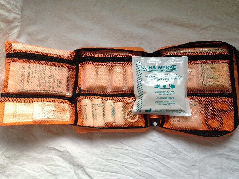 S&D Berlin Verbandtasche DIN Fü llung (Orange DIN 13157 - kl. betrieblicher Verbandkasten)