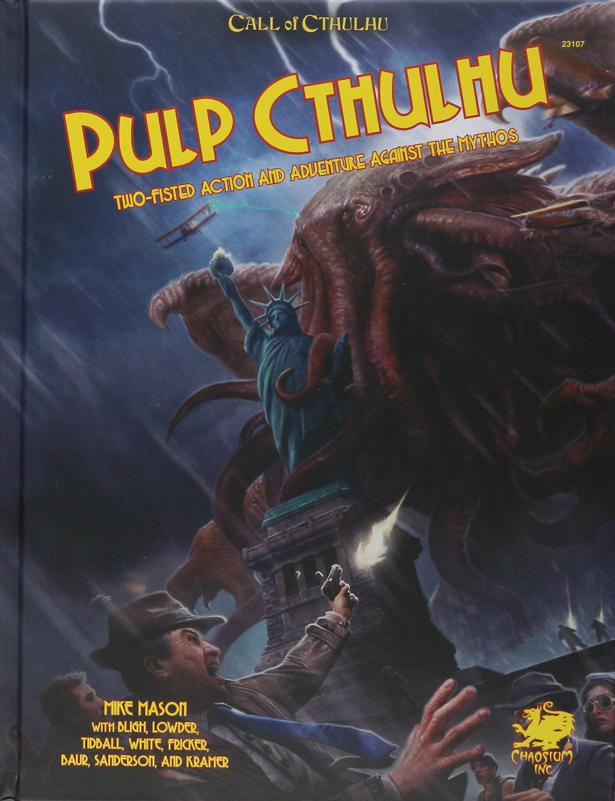 Pulp Cthulhu (Call of Cthulhu Roleplaying): Two Fisted