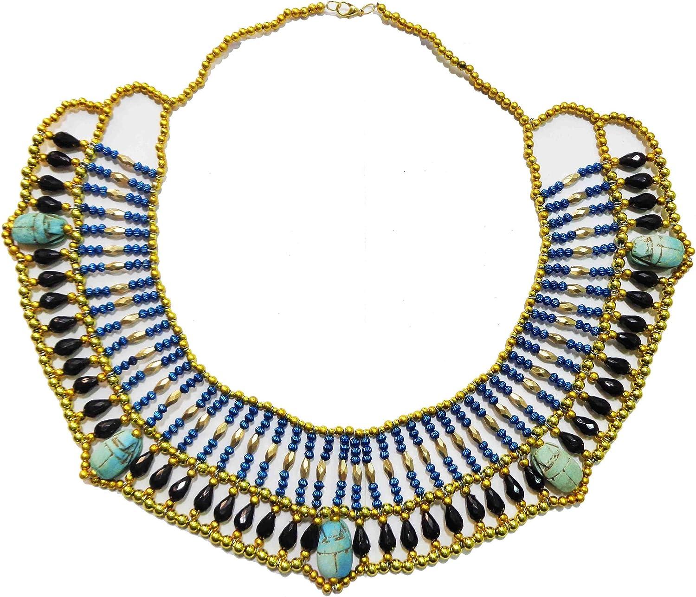 Egiziano collo gioielli