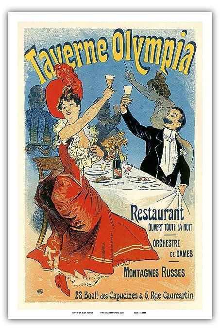amazon com taverne olympia restaurant paris art nouveau la