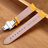 20mm Watch Strap Leather Watch Band Replacement