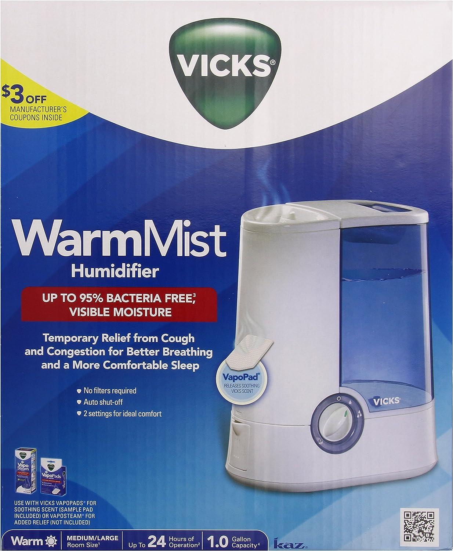 Kaz Inc V750 Vicks Warm Mist Humidifier