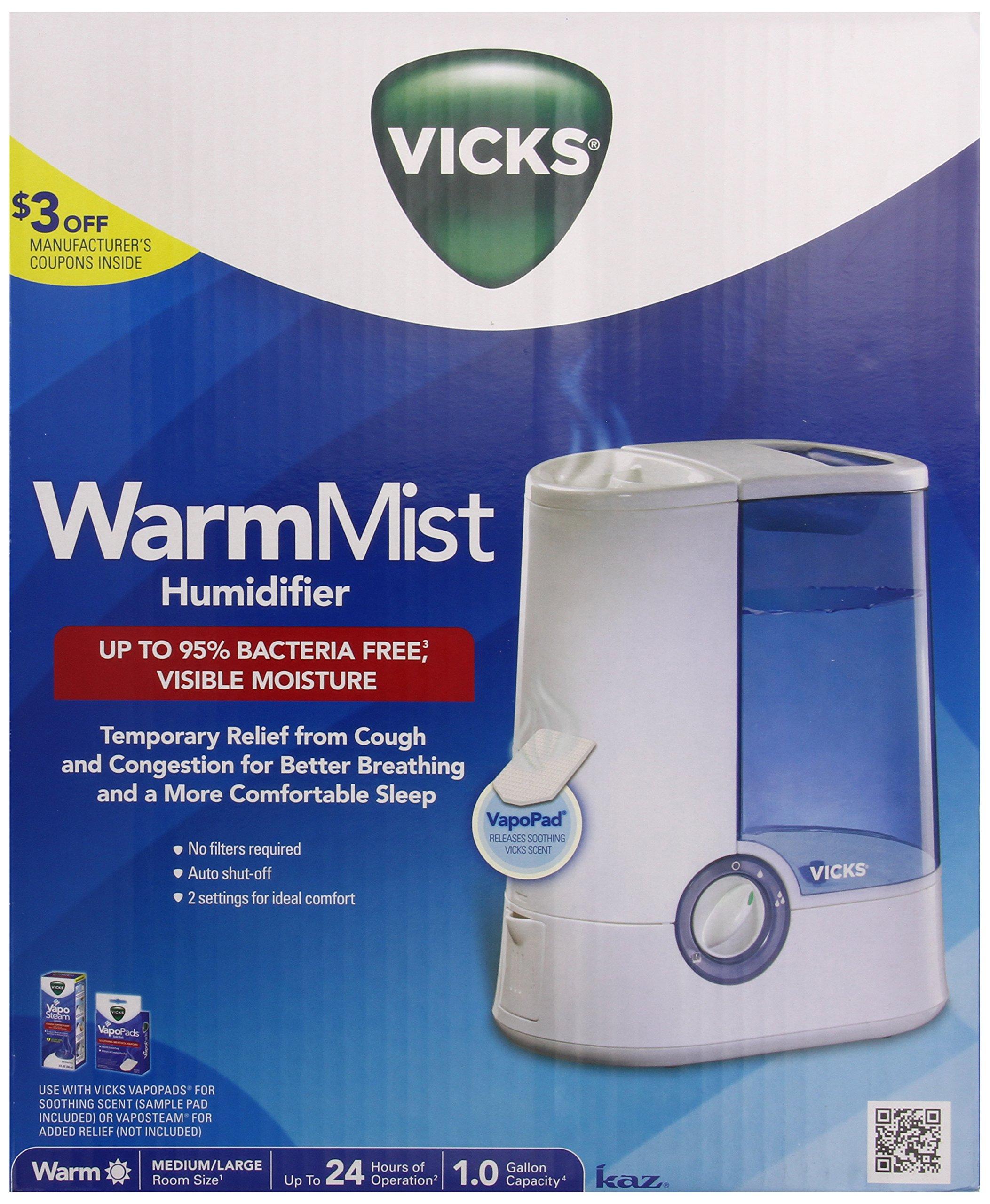 Vicks Warm Mist Humidifier by Vicks
