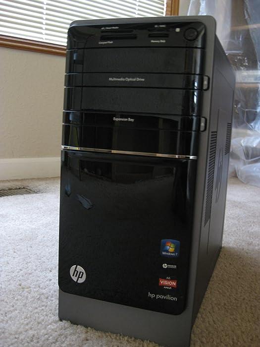 HP - Pavilion Desktop p7-1254 Black - 1TB, 8GB RAM - Pre-Owned