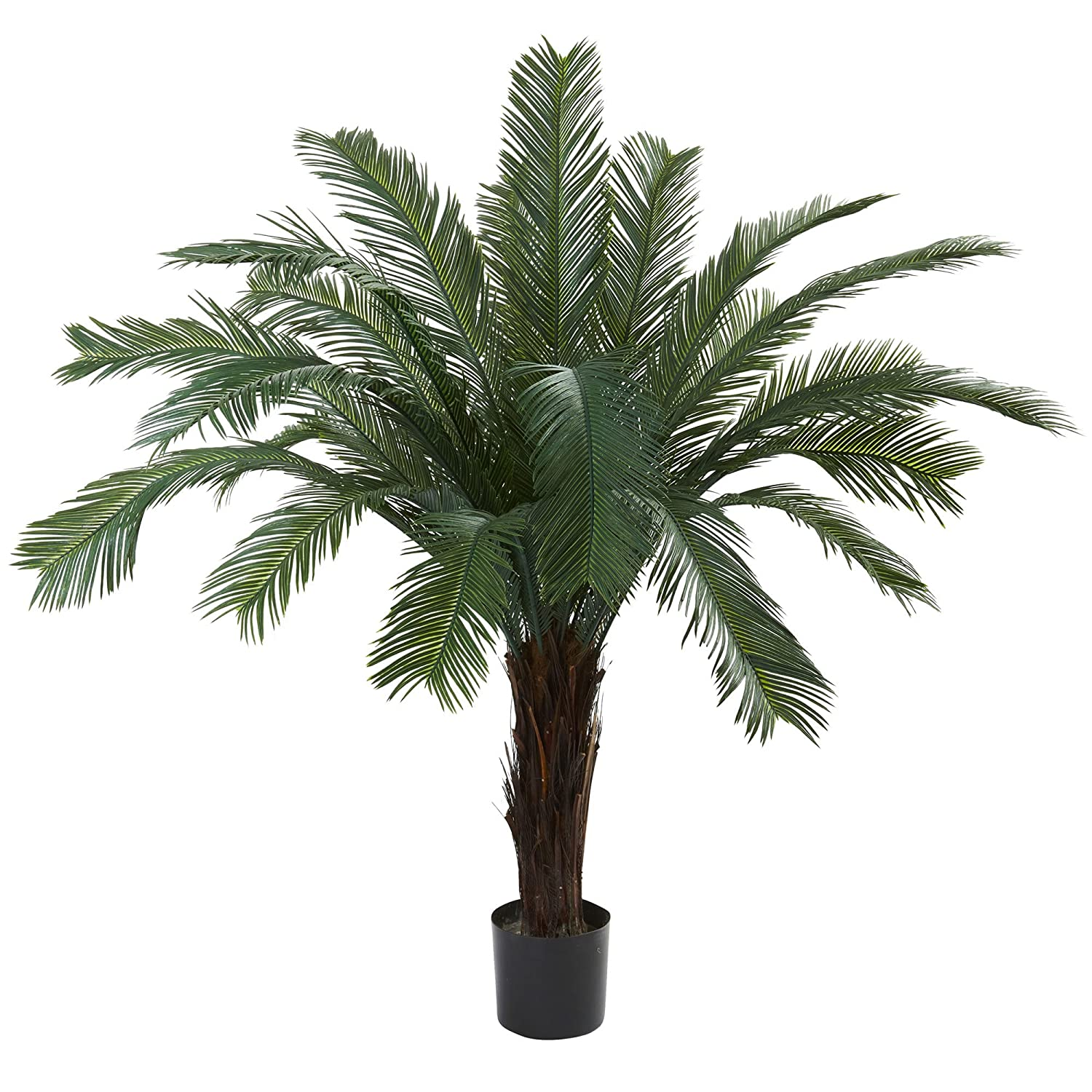 Nearly Natural 6769 Cycas UV Resistant Tree, 4-Feet, Green