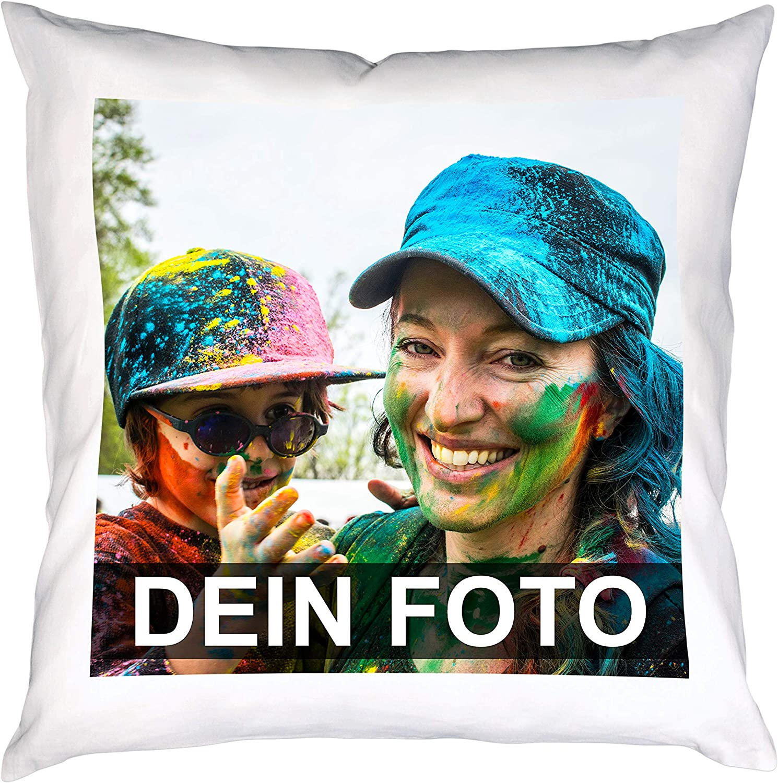 mit eigenen Foto,Text Super Fotokissenbezug Wunschmotiv 40 x 40 cm