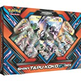 Pokemon TCG: Sun & Moon Guardians Rising Shiny Tapu KokoGX Box Featuring An Oversize Tapu Koko GX Card