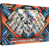 Pokemon TCG: Sun & Moon Guardians Rising Shiny Tapu KokoGX Box Featuring An Oversize Tapu Koko GX Card
