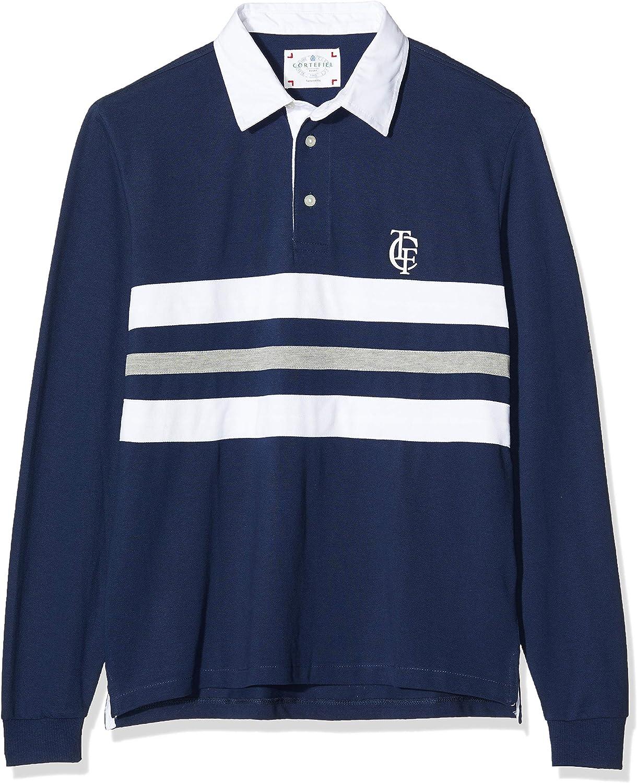 Cortefiel C5Ck Rugby Raya Triple Polo, Azul (Azul Marino 10), X-Large (Tamaño del Fabricante:XL) para Hombre: Amazon.es: Ropa y accesorios
