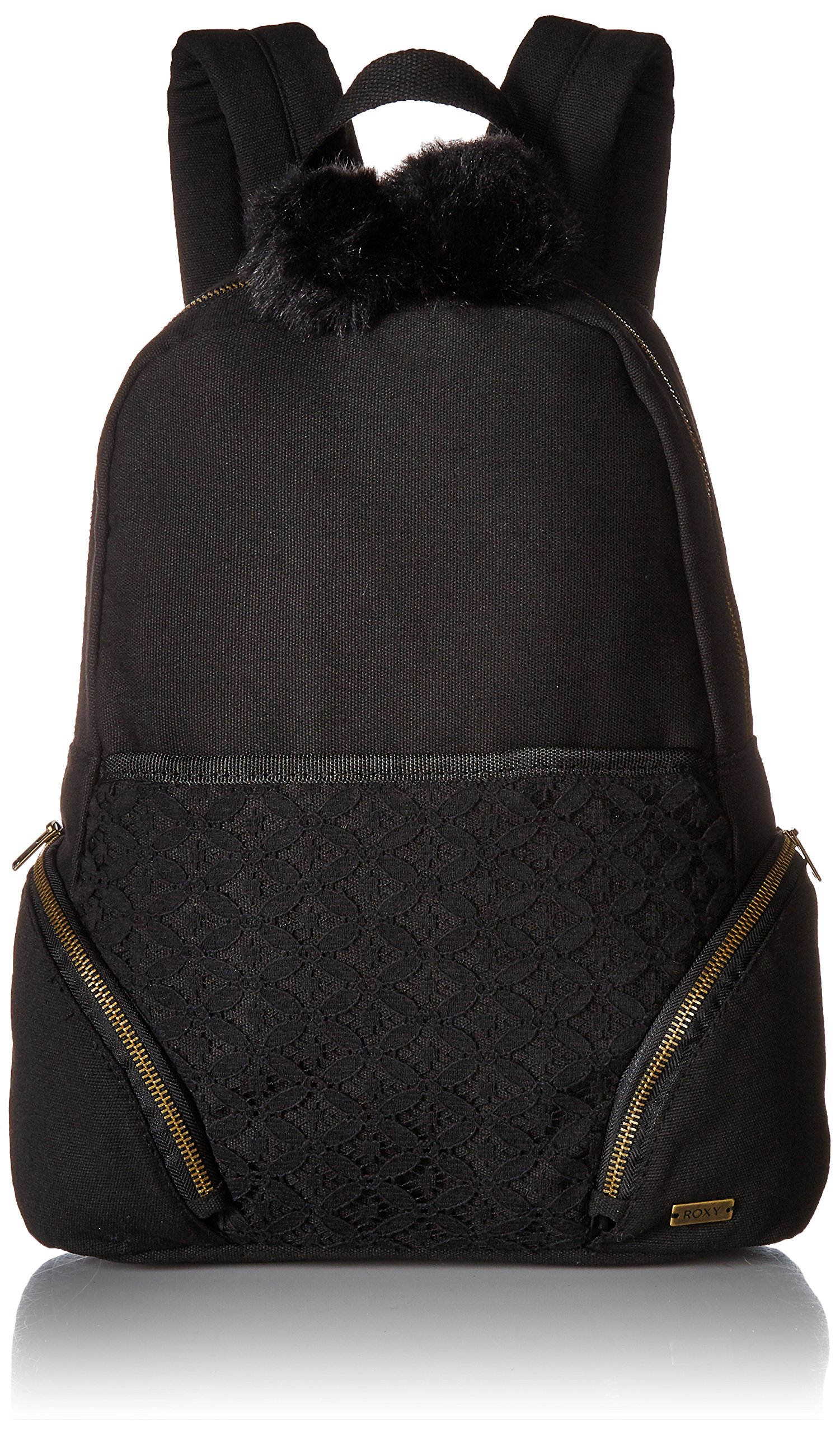 Roxy Women's Bombora Canvas Backpack, Anthracite