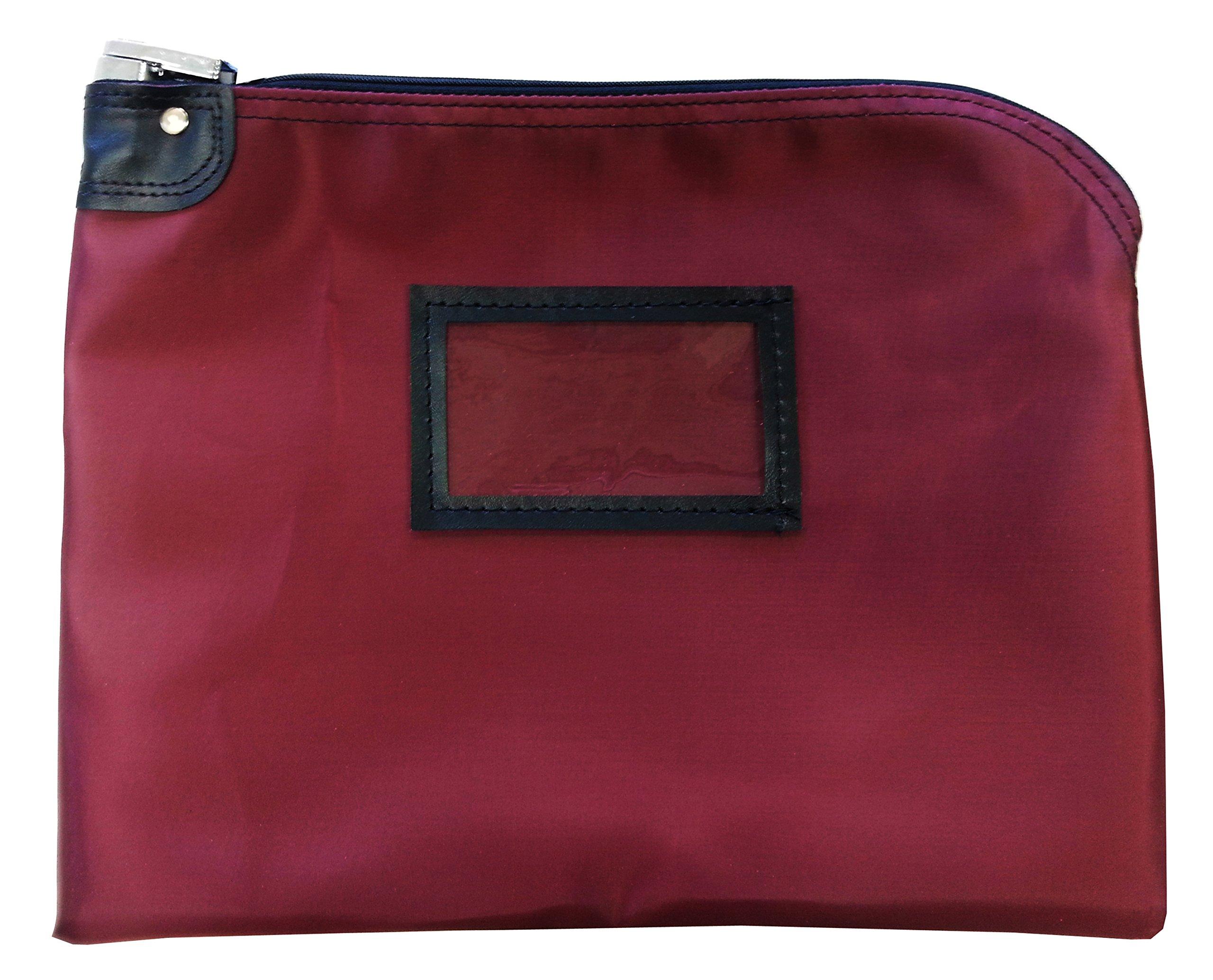 Locking Document Security HIPAA Bag 11 x 15 (Burgundy)