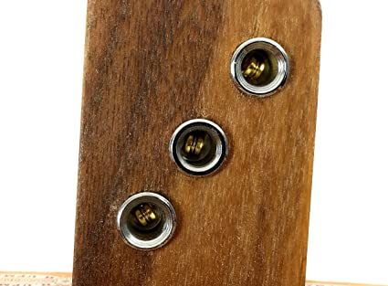 Chrome Cup-style Guitar String Ferrules: Musical Instruments