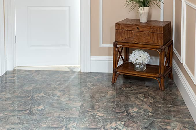 Achim Home Furnishings Ftvma44820 Nexus 12 Inch Vinyl Tile Dark