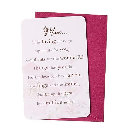 Wishing Well Palabras de la tarjeta Mensaje cariño sentimental ...