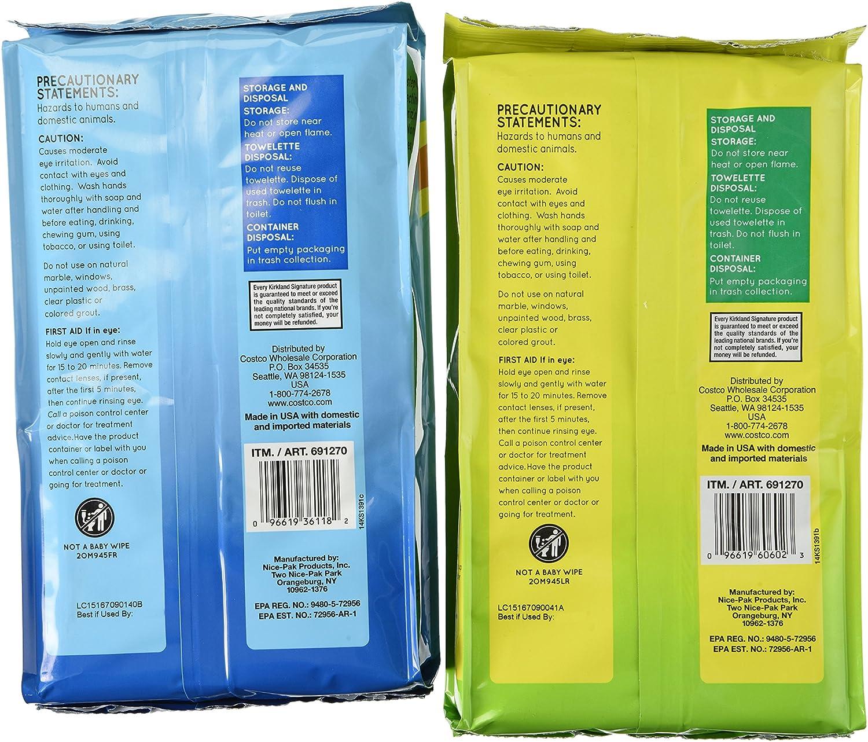 Kirkland Signature u691270 C desinfección toallitas, extra grande (Pack de 4): Amazon.es: Hogar