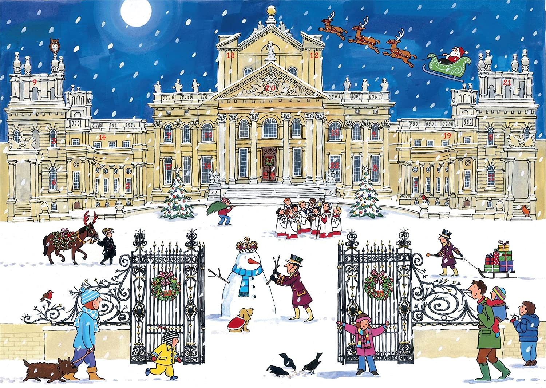 Alison Gardiner 'Christmas at the Palace' Large Traditional Advent Calendar Alison Gardiner Designs Ltd AC6