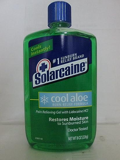 SOLARCAINE ALOE EXTRA GEL 8 OZ