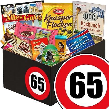 Geschenke 65 Geburtstag Schoko Ostbox Geschenke Zum 65