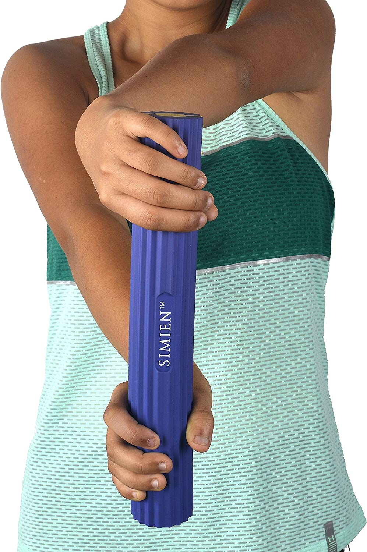 Simien Sports Flexible Rubber Twist Bar Tendinitis Forearm Pain Relief 3 Resistance Bar Levels In 1 Wrist Works With Brace /& Sleeves Golfers Elbow Flex /& Twist Elbow Tennis Elbow