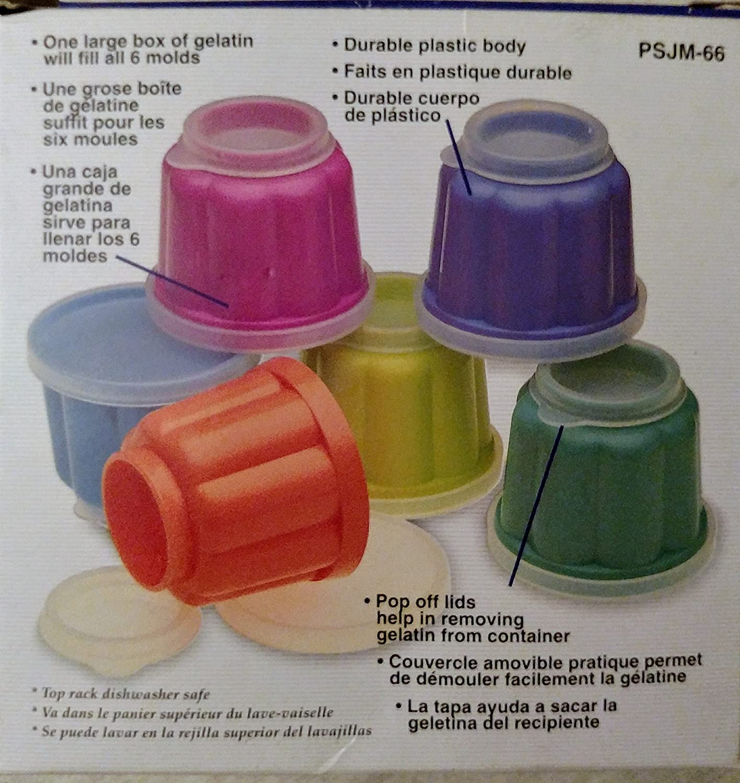 Amazon.com: Progressive Gelatin Mold, Set of 6: Kitchen Tools: Kitchen & Dining