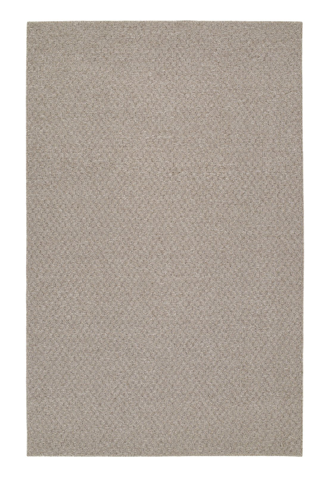 Garland Rug Town Square Area Rug, 5-Feet by 7-Feet, Pecan